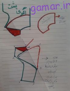 آموزش-خیاطی-سایت کولاب-الگوی-کت-مجلسی-دخترانه-2-230x300