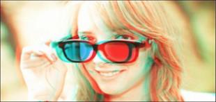 پکیج 3 بعدی +2 عدد عینک رايگان سه بعدی+ هديه