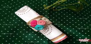 آموزش ساخت حلقه فانتزی دستمال سفره