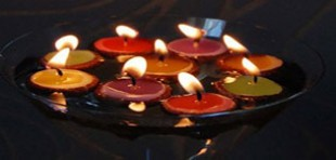آموزش ساخت شمع بلوطی