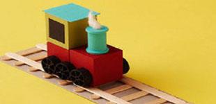 آموزش ساخت قطار کودکانه