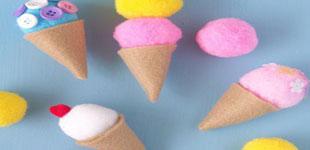 آموزش ساخت بستنی قیفی مگنتی