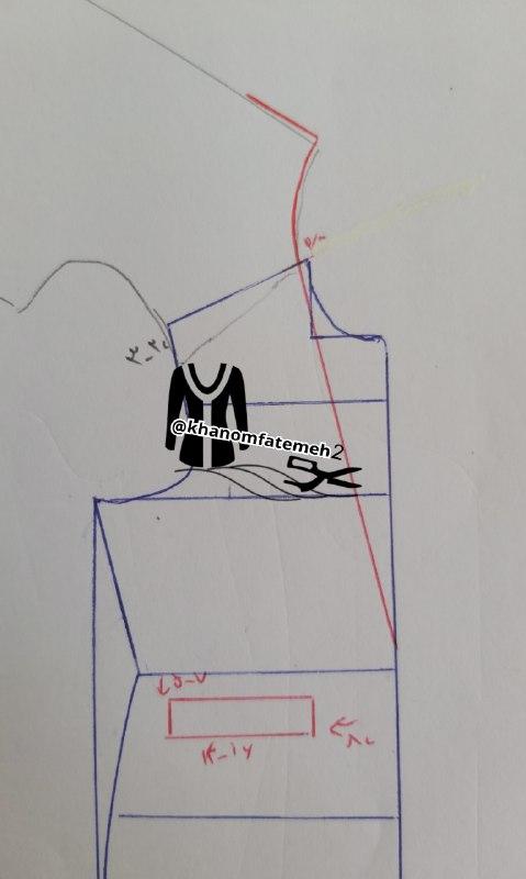 آموزش دوخت مانتو تابستانه