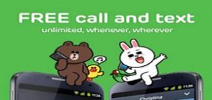 دانلود نرم افزار تماس و پیامک رایگان با اپیلیکیشن LINE