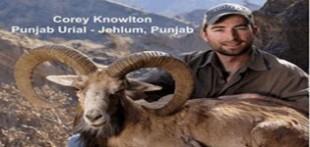 شکار قوچ اوریال و کل ماخور سلیمان – پازن در پاکستان