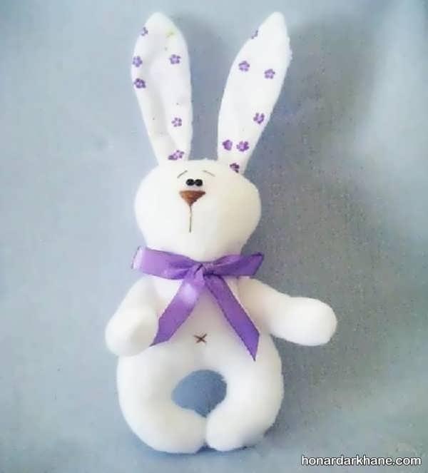 آموزش دوخت عروسک خرگوش ساده