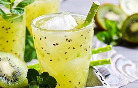 نوشیدنی  آموزش درست کردن نوشیدنی ژله ای  اسموتی  نوشیدنی ژله ای
