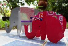 آموزش کاردستی فیل