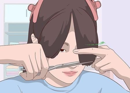 آموزش تصویری کوتاه کردن مو در خانه
