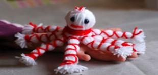 آموزش ساخت عروسک اختاپوس با کاموا بدون بافت