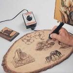 آموزش هنر سوخته کاری چوب (تصویری)