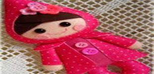 الگوهای عروسک نمدی