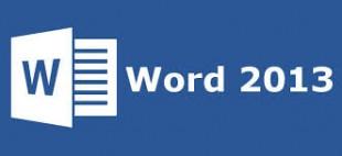 دانلود رایگان کتاب آموزش نرم افزار word 2013