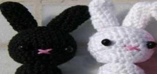 آموزش بافت عروسک خرگوش
