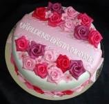 نمونه های زیبای تزیین کیک روز مادر