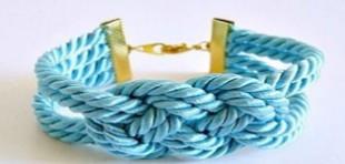 آموزش ساخت دستبند فانتزی با طناب