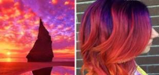 مدل های رنگ موی زنانه کهکشانی جدید + عکس