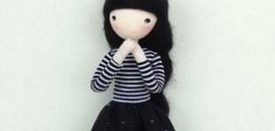 ساخت عروسک دختر با سیم مسی