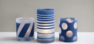 آموزش تزیین ظروف شیشه ای با هنر پتینه